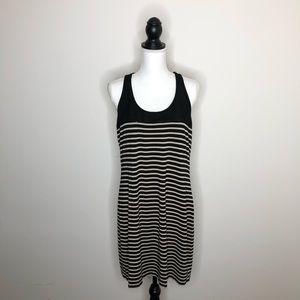 INC Concepts Sequin Racerback Striped Tank Dress